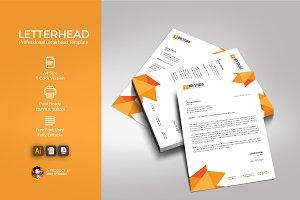 Creative Letterhead Template