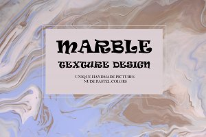 MARBLE DESIGN pastel colors