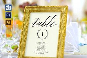 Wedding Seating Chart set Wpc95