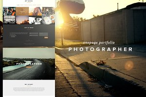 Photographer - Creative PSD