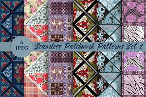 PATCHWORK seamless pattern set vol 2