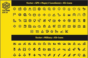 2600+ Vector Icons Pack | Part6