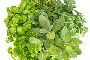 Fresh Herbs Food Ingredients