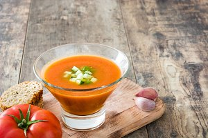 Spanish cold gazpacho
