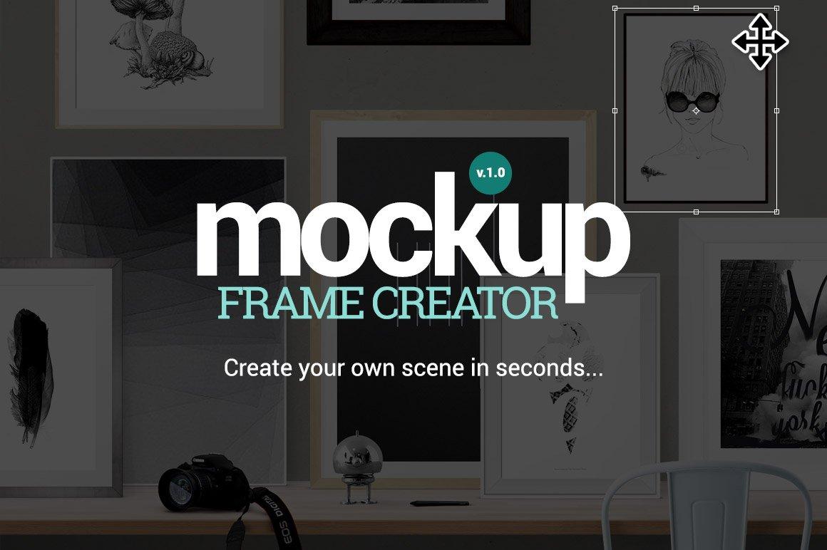 Mockup Frame Creator ~ Product Mockups ~ Creative Market