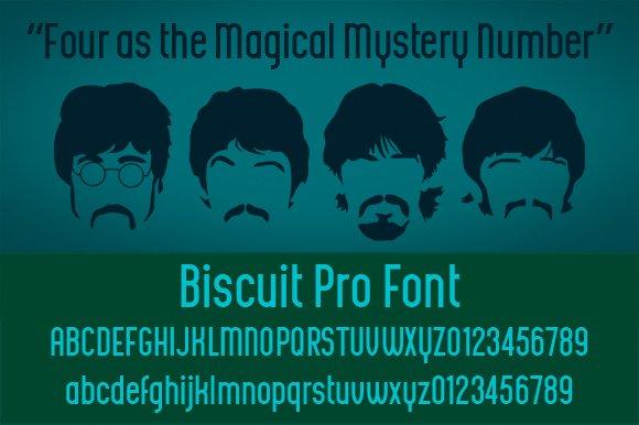 Biscuit Pro Font