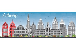 Antwerp Skyline