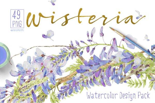 Wisteria - Design Pack