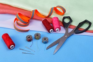 Various accessories for sewing
