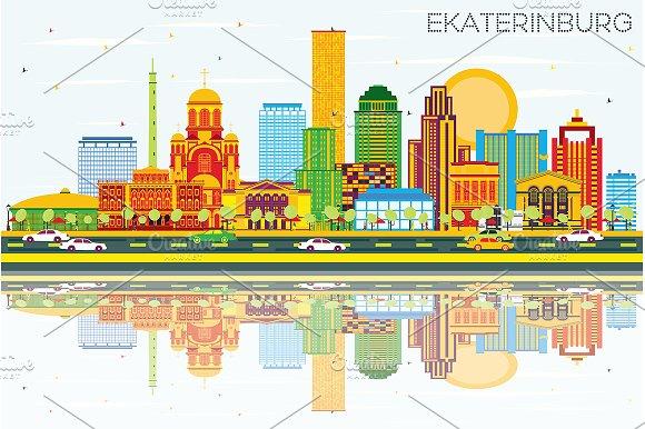Ekaterinburg Skyline