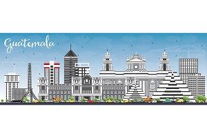 Guatemala Skyline