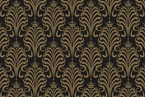 Art deco wallpaper, vector