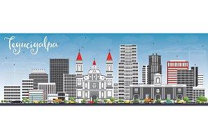 Tegucigalpa Skyline