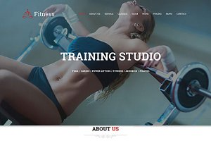 Fitness - Sport Center Gym Template