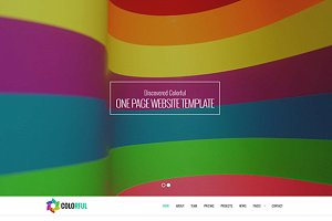 Colorful – Multipurpose Template