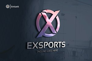 Exports - Letter X Logo