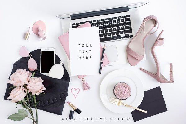 Styled Stock Image, Cupacake & Heel…