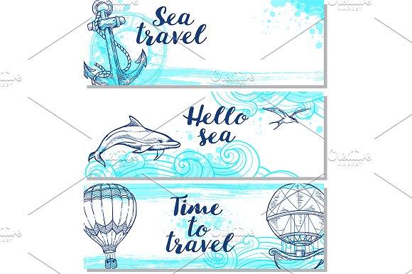 Blue Marine Backgrounds