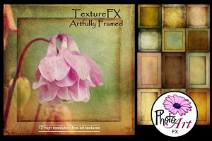 "TextureFX: Artfully Framed (12""sq)"