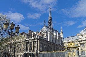 Saint-Chapelle. Paris, France.