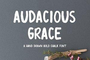 Audacious Grace Font