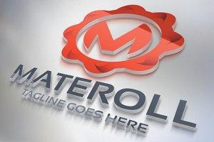 Materoll (Letter M) Logo