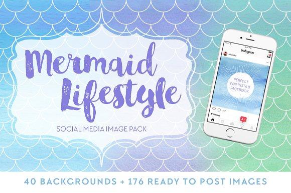 Mermaid Lifestyle Social Media Pack