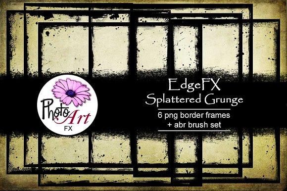 EdgeFX Splattered Grunge