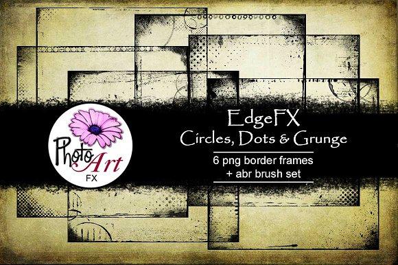 EdgeFX Circles Dots Grunge