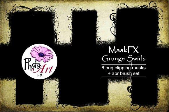 MaskFX Grunge Swirls