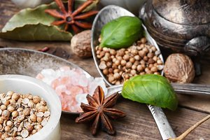 peppercorn and Indian spice