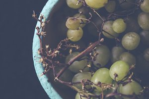 fresh bio yineyards grape