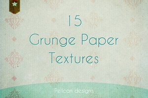 grunge paper textures pack