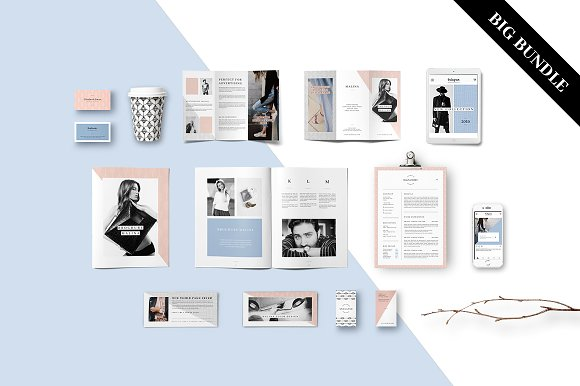 MALINA Branding Bundle – All in One - Stationery