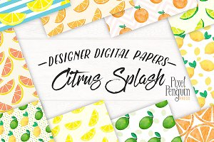 Lemonade Digital Paper