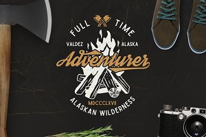 Full Time Adventurer Logo