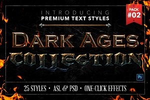Dark Ages #2 - Text Styles