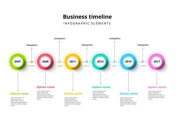 timeline infographics template presentation templates creative
