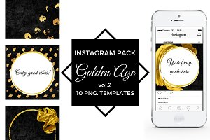 GOLDEN AGE vol. 2 - Instagram pack