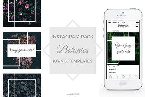 BOTANICA - Instagram pack