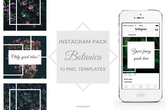 BOTANICA Instagram Pack