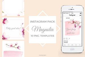 MAGNOLIA - Instagram pack