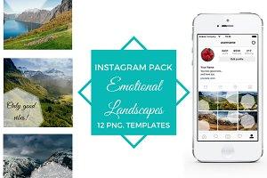 EMOTIONAL LANDSCAPES -Instagram pack