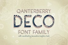 Decorative Font Family-Qanterberry