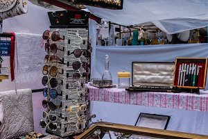 Sunglasses and Vintage Objects