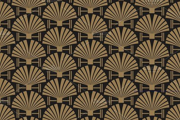 Art Deco seamless pattern ~ Patterns ~ Creative Market