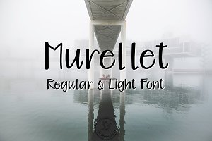 Murellet | Regular & Light Font
