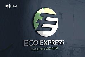 Eco Express - Letter E Logo