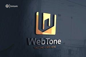 Web Tone - Letter W Logo