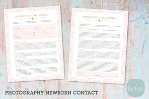 NG027 Photography Newborn Contract